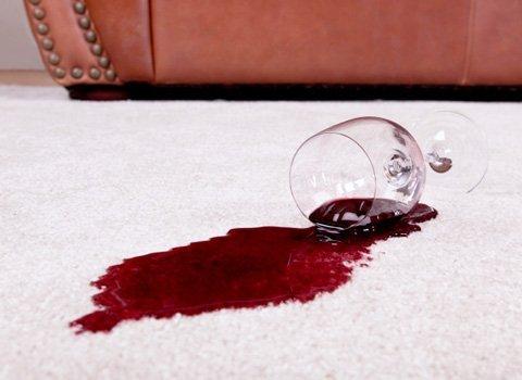 spill stain on carpet