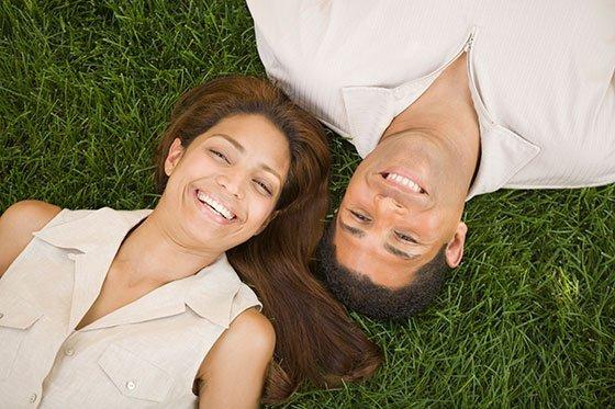 eco-friendly couple
